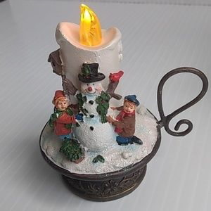 Other - Musical Snowman Candle   8 Songs Christmas Decor